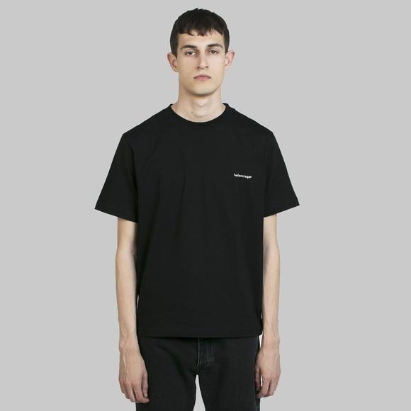 c40eeb655307c3 Balenciaga Shirts   Black Tshirt   Poshmark